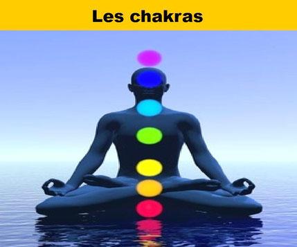 Les chakras - Harmonisation des chakras  - Lithothérapie - Casa bien-être