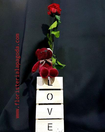 Rosa eterna . Ref rosas eterna 01