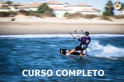Curso kitesurf completo precio