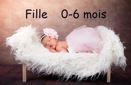 Vêtements occasion bébé fille
