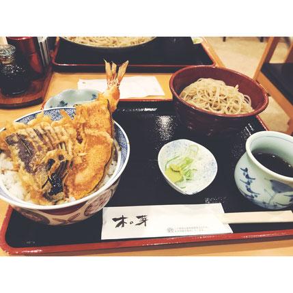 石川町、そば、そば処 木の芽、美味しい、天丼