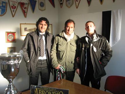 2008-09 Serie D Musumeci, Barabino e Incontri