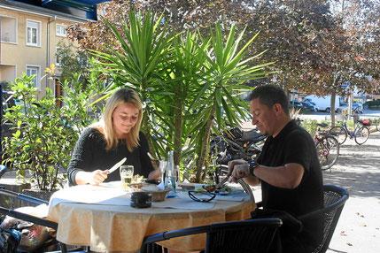 gemütliches Restaurant, nahe Berliner Platz