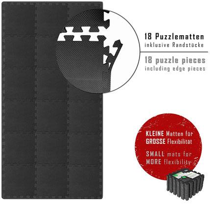 Laufbandzubehör Unterlegematte Schutzmatten Set BeMaxx