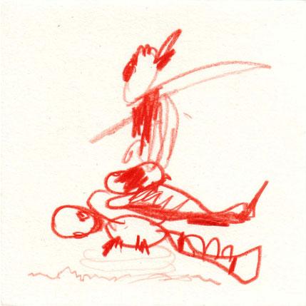 """- ohne Titel -   aus der Serie """"Flügelfüssler"""", 2010"""
