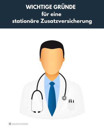 Wichtige Gründe für eine stationäre Krankenzusatzversicherung