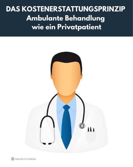 Kostenerstattungsprinzip: Ambulante Behandlung wie ein Privatpatient