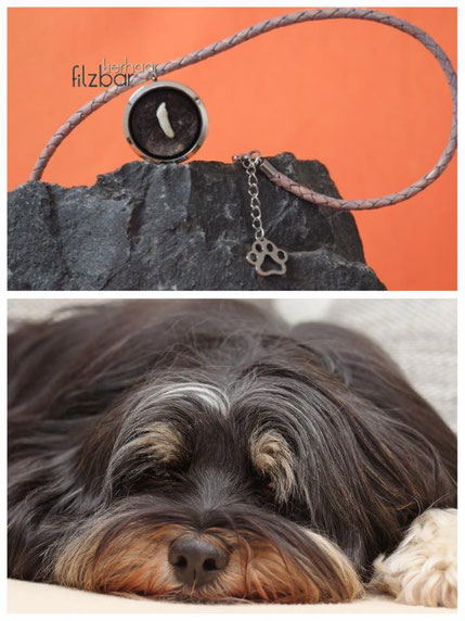 Schmuck aus Hundefell