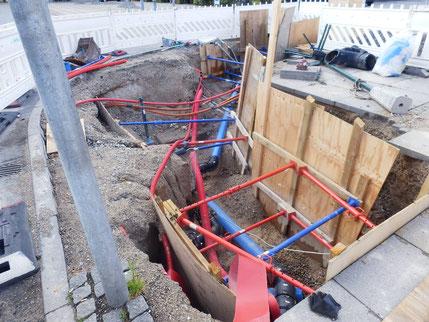 北欧は、水道本管までもがオシャレ?