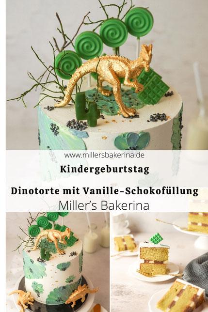 Dino - Torte / Kindergeburtstag