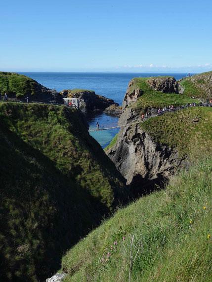 Nordirland: Carrick-a-Rede Hängebrücke