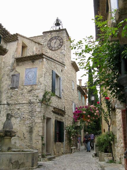 Seguret in der Provence, Frankreich