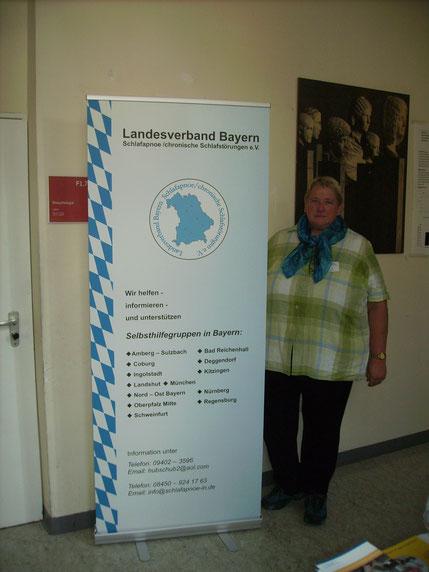Infostand zur Feier 200 Jahre Klinikum der LMU München Innenstadt in 2013