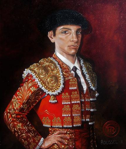 art-corrida-tableau-tauromachie-peinture-torero