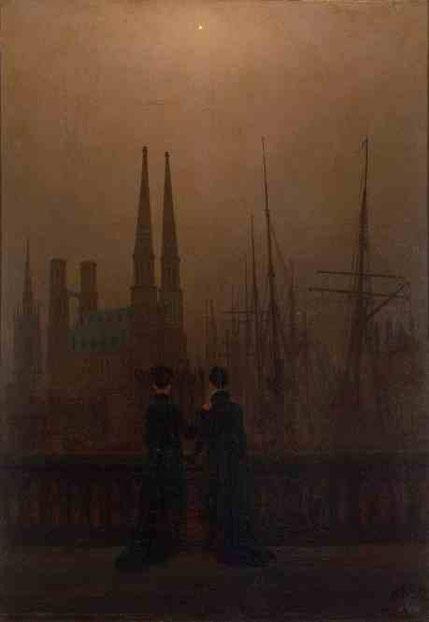 Сёстры на балконе. 1820