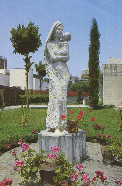 La Statua originale della Vergine