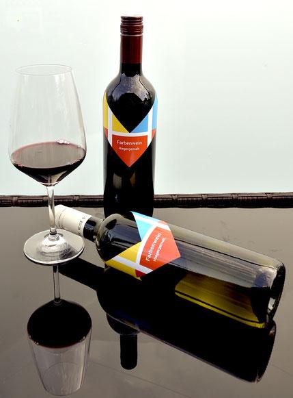 Meine neuen Kundengeschenke - Farbenwein aus Rust am See im Burgenland von der Fam. Schreiner - http://www.weinbau-schreiner.at