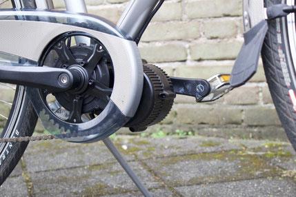 Trek T300  met ombouwset Middenmotor van FONebike Fiets Ombouwcentrum Nederland