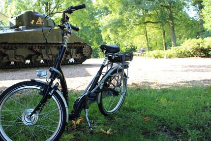 van Raam Balance fiets met ombouwset van FONebike Fiets Ombouwcentrum Nederland