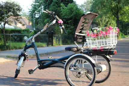 van Raam Easy Rider met ombouwset van FONebike Fiets Ombouwcentrum Nederland