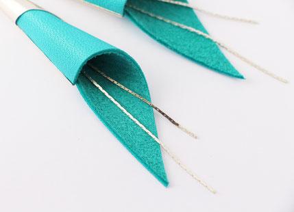 créations bijoux- créateur bijoux- bijoux fait main-bijoux cuir- créateur bijoux cuir- création bijoux- -sarayana-handmade jewelry-leather jewelry-bijoux de créateur- boucles d'oreille cuir- boucles d'oreille turquoise-boucles d'oreilles arum