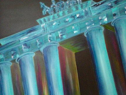 """Brandenburger Tor 2"" Acryl auf Leinwand, 80x60 cm"