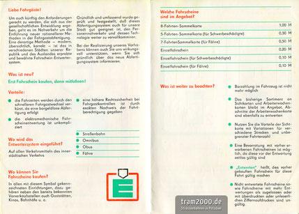 Infobroschüre Einführung Entwerter