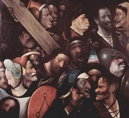 Несение креста - Иероним Босх