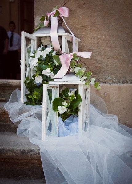Allestimenti matrimoniale chiesa - allestimento floreale chiesa