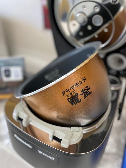 Wおどり炊き パナソニックIHジャー炊飯器 PREMIUMシリーズ SR-SSX100 SR-VSX100