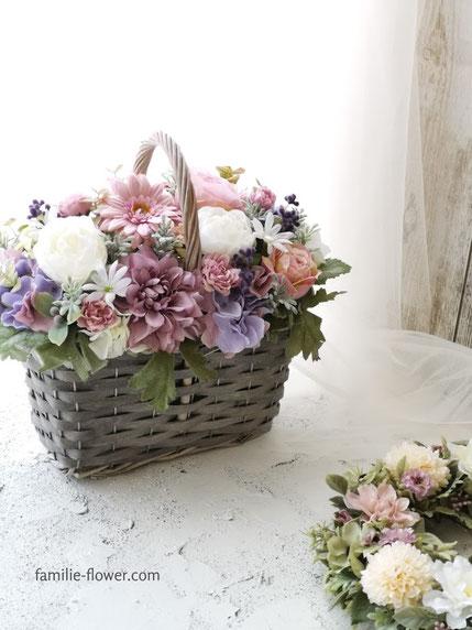 高級造花のギフト