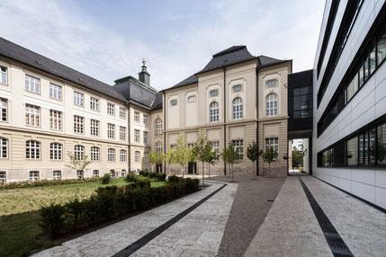 Universität Würzburg | Teilbibliothek am Wittelsbacher Platz | © Gerald Langer