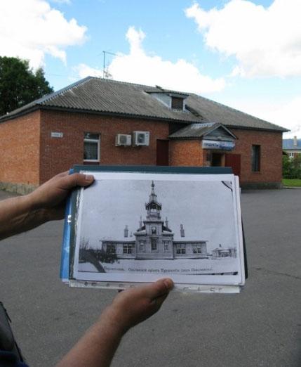 Была церковь Ольгинского приюта трудолюбия — на ее фундаменте встал продуктовый магазин