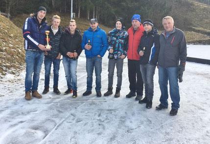 FF und SV Teilnahme bei der Gemeindemeisterschaft am 26.12. beim ESV in Lainach