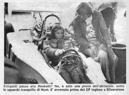 Fittipaldi passa alla Hesketh?