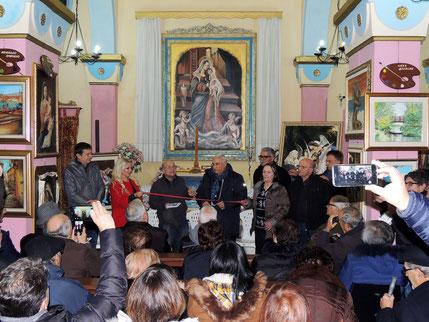 2 dicembre 2017, h. 18.00 - Taranto, chiesa Santa Maria della Scala. Inaugurazione della rassegna. (Foto Pasquale Raffo)