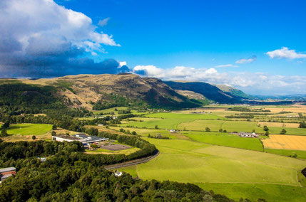 Stirling top things to do - Wallace Monument View - Copyright  Alexandr Kovalenko