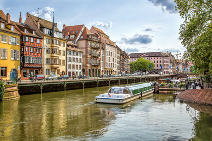 Street of Strasbourg. City view. Copyright Alex Poison