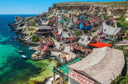 top things to do in Malta Popeye Village Copyright tobias scheck