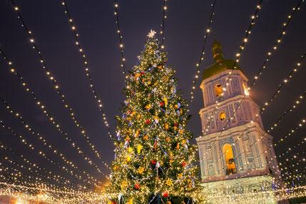 Kyiv's Christmas Tree
