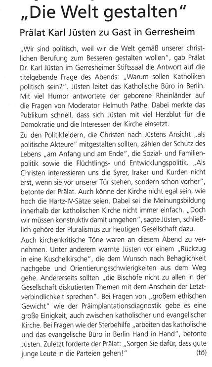 November 2014, Gerresheimer Gazette