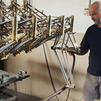 Glanzrad Fahrrad Produktion Wien