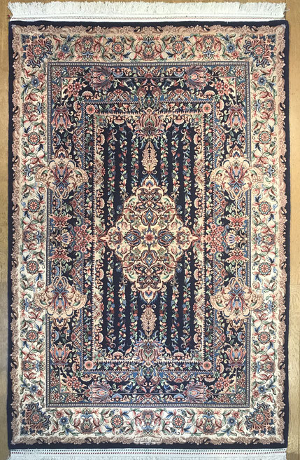ESFAHAN wool&silk 約168x112cm GHOLSHADI工房