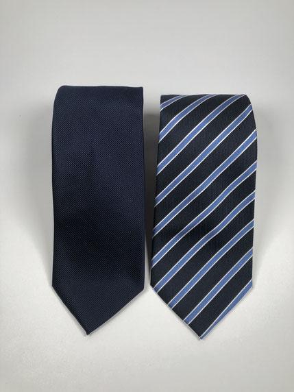 ネクタイの合わせ方(写真をクリックすると購入画面になります)