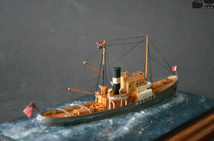 Hochseeschlepper HERMES - 1/350 by SSN Modellbau