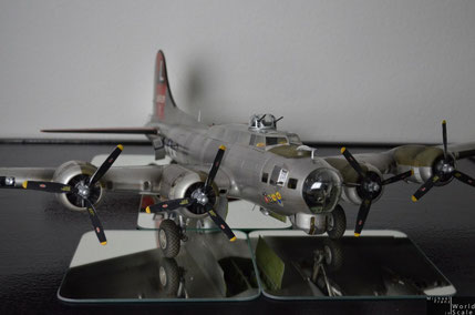 "B-17 ""Flying Fortress"" 1/32 by HK Models & Eduard & Profimodeller"