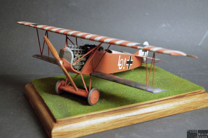 "Fokker D.VII ""Ernst Udet"" by Wingnut Wings"