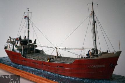 """Küstenmotorschiff (Coaster) """"Noordborg"""" - 1/87 by Artitec"""