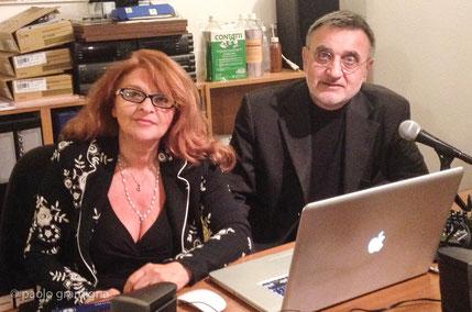 Rossana Reginelli, administrator e Paolo Gramigna, rater