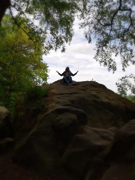 Bild mit  Meditation in der Natur